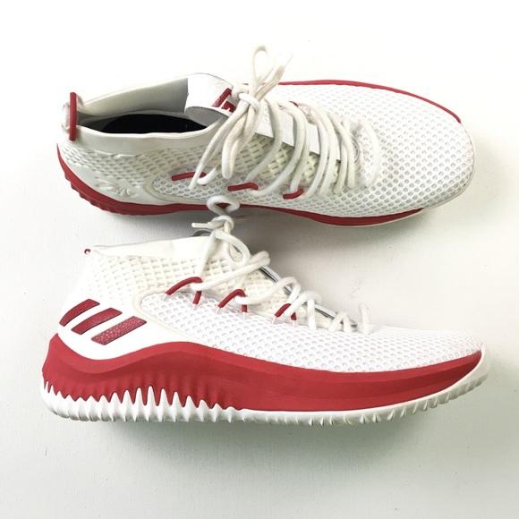 adidas Sko 115 Hvid Rød Basketball 115 Sko Art Ac7276 Poshmark 8de715